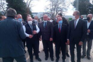 Sanayi ve Teknoloji Bakanı Varank TOGG Fabrikası İnşaat Sahasında İncelemede Bulundu