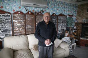 Gemlikli 79 yaşındaki gurbetçiden ilginç koleksiyon