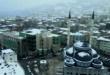 Gemlik'te Drone Eşliğinde Kar Manzarası