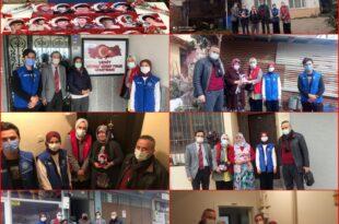 Gemlik Gençlik Merkezinden 17 Şehit Ailesine Anlamlı Ziyaret