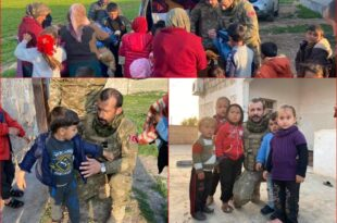 Gemlik'ten İdlib'e Gönderilen Gıda ve Giyim Yardımı Yerine Ulaştı