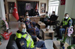 Jandarma'dan Polise Yanınızdayız Ziyareti