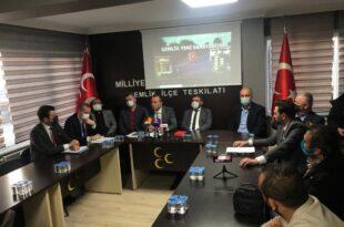 MHP Belediye ve ilçe teşkilatı çalışmalarını değerlendirdi