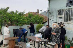Ata Mahallesinde Öğrencilerden Örnek Çalışma