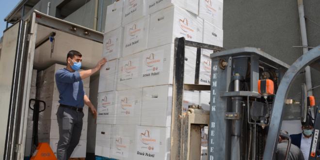 Borusan Grubu'ndan Ramazan ayında Gemlik'te 1500 Aileye Erzak Yardımı