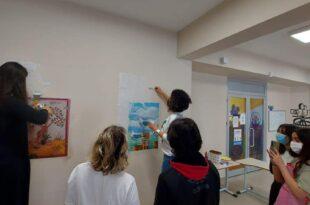 """Öğrenciler """"Gençlik Duvarı"""" etkinliğinde buluştular"""