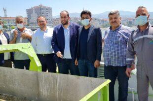 Büyükşehir Temizleme Aracı Gemlik Sahillerinde