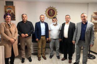 Fehmi Arslan Ekibi İle Gazetemizi Ziyaret Etti