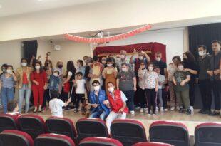 Gemlik Gençlik Merkezinden Özel programÖzel Öğrenciler Hacivat-Karagözle tanıştı