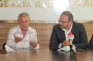 Gürle ve ekibinden AK Parti'ye Ziyaret