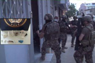 Orhangazi'de Büyük Uyuşturucu Operasyonu...