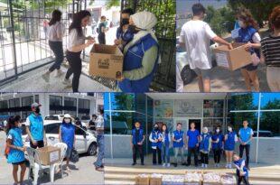 'Gönüllü Gençler Köy Okullarındaki Öğrenciler için1500 adet Kurşun Kalem Topladılar'