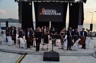 Amfitiyatroda klasik müzik akşamı