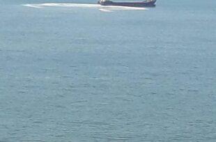 Gemiden denize atık bırakıldı iddiası…