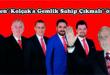 """MHP'den"""" Kolçak'a Gemlik Sahip Çıkmalı"""" önergesi"""