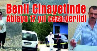 Gemlik'te kardeşini öldüren sanığa 17,5 yıl hapis cezası