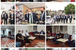 Ak Parti Gemlik İlçe Teşkilatı Köy Köy, Mahalle Mahalle gezerek Gemlik Halkını dinledi