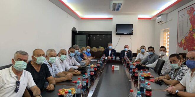 Gemlik Belediyesi heyeti Navodari'de
