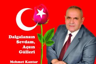 Kantar'ın ilk şiir kitabı yayınlandı
