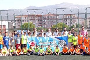 Yaz Kur'an Kursları arası futbol turnuvası başladı
