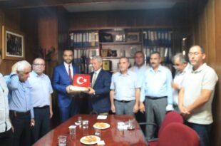 MHP'DEN ESNAF KEFALET ZİYARETİ