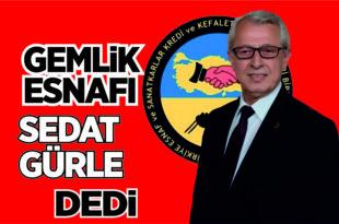 Gemlik Esnaf Kredi Kefalet Kooperatifi seçimini Sedat Gürle ve ekibi 759 oy ile kazandı.