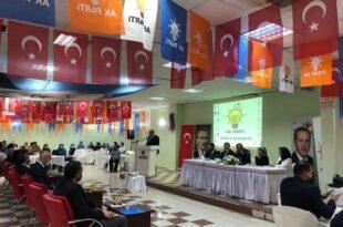 AK Parti Danışma Meclisi Yapıldı