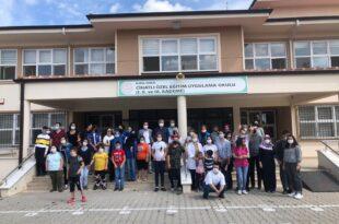 Gönüllü Gençlerden Cihatlı Özel Eğitim Okulu Öğrencilerine Duygulu Ziyaret