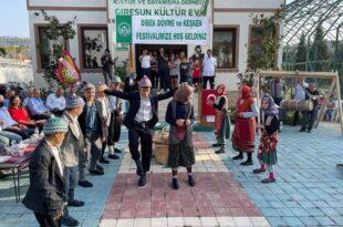 Giresunlular Derneğinin düzenlediği Dibek dövme ve keşkek festivali